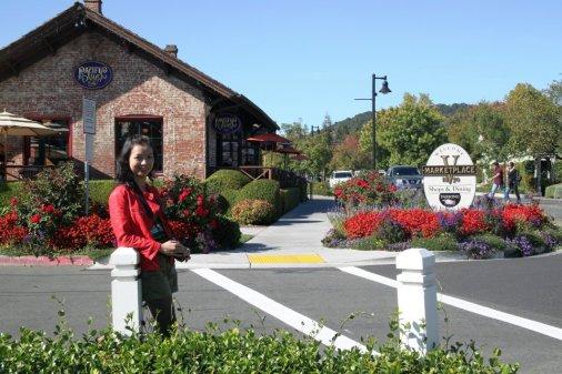 Yountville, 1 trong những vùng trồng nho và sản xuất  rượu nho của Napa
